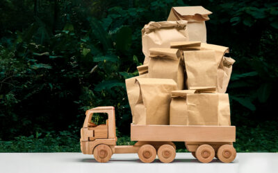 Mythbusting Paper vs Compostable bags: the transportation edition